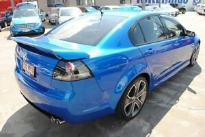 2010 Holden Commodore VE MY10 SS V Blue 6 Speed Manual Sedan Hyde Park Townsville City Preview