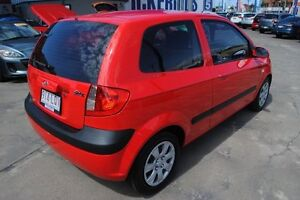 2009 Hyundai Getz TB MY09 S Hip Hop Red 5 Speed Manual Hatchback Townsville Townsville City Preview