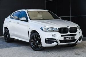 2016 BMW X6 F16 M50d Coupe Steptronic Mineral White 8 Speed Sports Automatic Wagon Wangara Wanneroo Area Preview