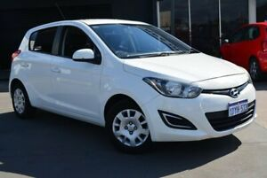 2012 Hyundai i20 PB MY12 Active White 4 Speed Automatic Hatchback Kewdale Belmont Area Preview