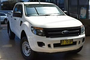 2012 Ford Ranger PX XL 2.2 HI-Rider (4x2) White 6 Speed Automatic Crew Cab P/Up Belconnen Belconnen Area Preview