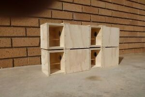 PLYWOOD GOULDIAN FINCH NEST BOXES WITH PORCH ENTRY Shalvey Blacktown Area Preview