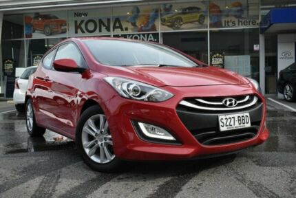 2013 Hyundai i30 GD SE Coupe Red 6 Speed Sports Automatic Hatchback St Marys Mitcham Area Preview