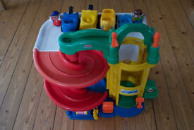 Fisherprice toy garage
