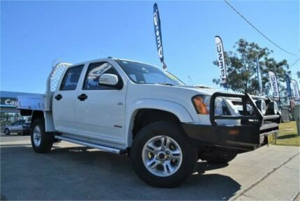 2008 Holden Colorado RC LX White Manual Cab Chassis Mulgrave Hawkesbury Area Preview