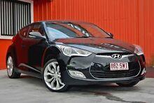 2012 Hyundai Veloster FS Coupe Black 6 Speed Manual Hatchback Molendinar Gold Coast City Preview