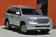 2008 Toyota Landcruiser UZJ200R Sahara Silver 5 Speed Sports Automatic Wagon Molendinar Gold Coast City Preview