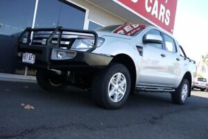 2014 Ford Ranger PX XLS Double Cab Silver 6 Speed Manual Utility Avoca Bundaberg City Preview