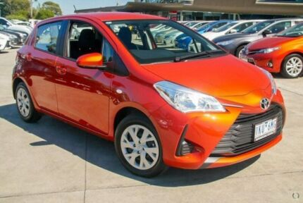 2017 Toyota Yaris Orange Automatic Hatchback