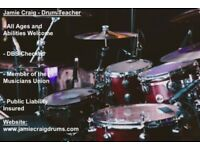Drum Lessons | DBS Checked