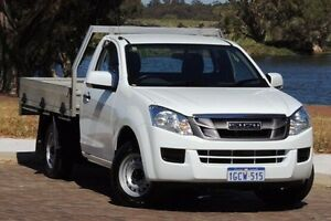 2015 Isuzu D-MAX MY15 SX White 5 Speed Manual Cab Chassis Glendalough Stirling Area Preview