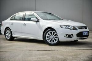 2012 Ford Falcon FG MkII G6 EcoBoost White 6 Speed Sports Automatic Sedan