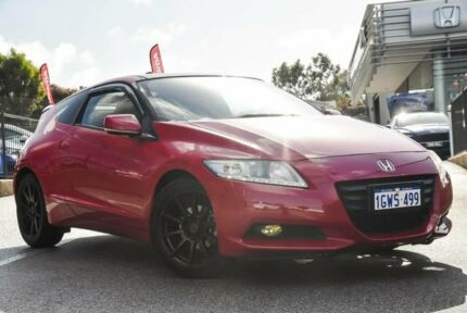 2012 Honda CR-Z Luxury Hybrid Red Continuous Variable Coupe Wangara Wanneroo Area Preview