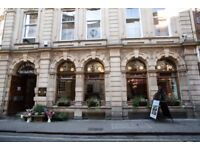 Creative and versatile work space available in beautiful city centre location