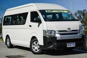 2017 Toyota HiAce KDH223R Commuter High Roof Super LWB French Vanilla 4 Speed Automatic Bus Clarkson Wanneroo Area Preview