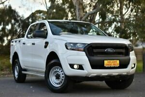 2016 Ford Ranger PX MkII XL Double Cab White 6 Speed Sports Automatic Utility Melrose Park Mitcham Area Preview