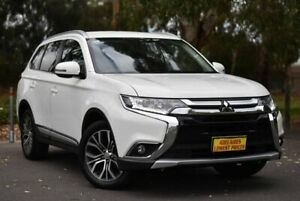 2017 Mitsubishi Outlander ZK MY17 LS 2WD White 6 Speed Constant Variable Wagon Melrose Park Mitcham Area Preview