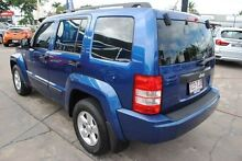 2009 Jeep Cherokee KK MY10 Sport Blue 4 Speed Automatic Wagon Hyde Park Townsville City Preview