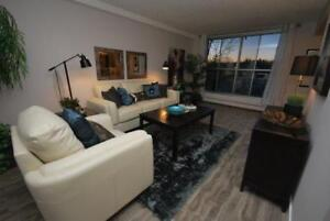 Fully Renovated Top Floor 2BR Over Looking Sturgeon River