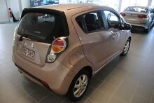 2012 Holden Barina Spark MJ MY12 CD Fortune Rose 5 Speed Manual Hatchback Hyde Park Townsville City Preview