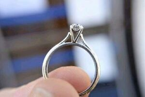 14K Gold 0.41ct Diamond Engagement Ring - Size 8 - Appraised*