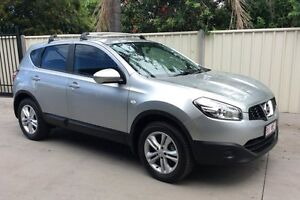 2013 Nissan Dualis J10W Series 4 MY13 ST Hatch X-tronic 2WD Silver 6 Speed Constant Variable Hatchba Pialba Fraser Coast Preview