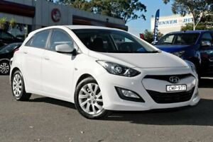 2013 Hyundai i30 GD Active White 6 Speed Sports Automatic Hatchback Condell Park Bankstown Area Preview