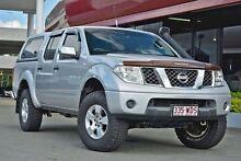 2006 Nissan Navara D40 ST-X Silver 6 Speed Manual Utility Aspley Brisbane North East Preview