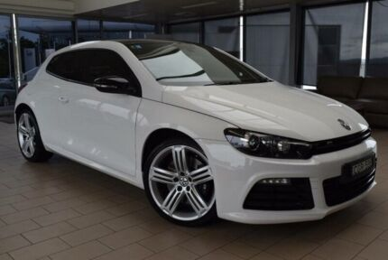2012 Volkswagen Scirocco 1S MY13 R Candy White 6 Speed Manual Coupe