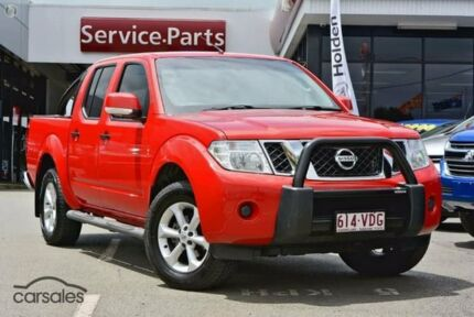 2014 Nissan Navara D40 S7 ST Red 6 Speed Manual Utility