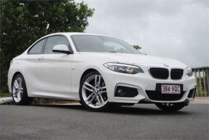 2015 BMW 220i F22 M Sport White 8 Speed Sports Automatic Coupe Chevallum Maroochydore Area Preview