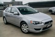 2011 Mitsubishi Lancer CJ MY11 ES Sportback Silver 6 Speed Constant Variable Hatchback Nunawading Whitehorse Area Preview