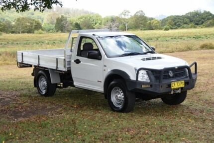 2007 Holden Rodeo RA MY08 LX White 5 Speed Manual Cab Chassis South Lismore Lismore Area Preview