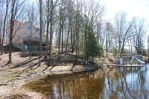 Buck Lake Waterfront Home With Boathouse!