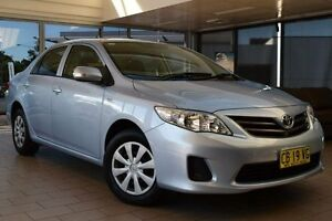 2013 Toyota Corolla ZRE152R MY11 Ascent Blue 4 Speed Automatic Sedan Belconnen Belconnen Area Preview