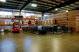 Warehouse and outdoor storage available