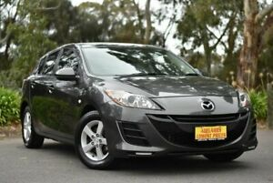 2010 Mazda 3 BL10F1 Neo Grey 6 Speed Manual Hatchback Melrose Park Mitcham Area Preview