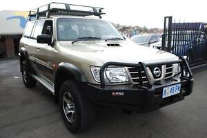 2002 Nissan Patrol Wagon 5 SPEED 7 SEATER LOW KLMS North Hobart Hobart City Preview