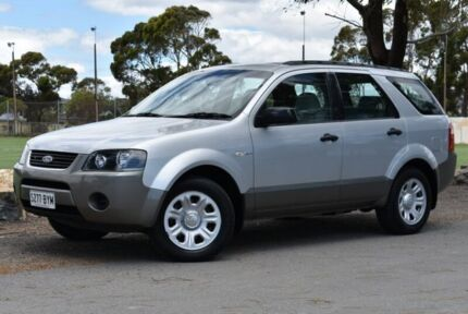 2004 Ford Territory SX TX AWD Silver 4 Speed Sports Automatic Wagon Brighton Holdfast Bay Preview