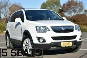 2014 Holden Captiva CG MY15 5 AWD LT White 6 Speed Sports Automatic Wagon Strathalbyn Alexandrina Area Preview