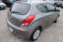 2012 Hyundai i20 PB MY13 Active Ember Grey 6 Speed Manual Hatchback Hyde Park Townsville City Preview