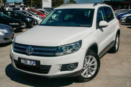 2014 Volkswagen Tiguan White Sports Automatic Dual Clutch Wagon