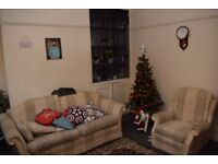 Double room in 3 bed home