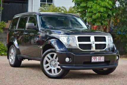 2011 Dodge Nitro KA MY11 SX Black 4 Speed Automatic Wagon