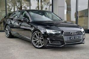 2018 Audi A4 B9 S Line Black Sports Automatic Dual Clutch Berwick Casey Area Preview