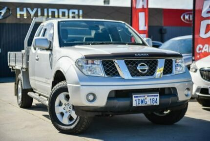 2012 Nissan Navara D40 S6 MY12 ST-X King Cab Silver 6 Speed Manual Cab Chassis Midvale Mundaring Area Preview