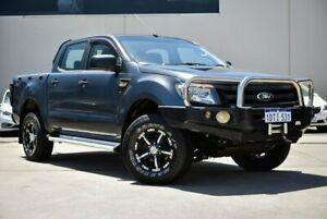 2011 Ford Ranger PX XL Super Cab Blue 6 Speed Manual Cab Chassis Midvale Mundaring Area Preview