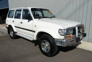 1997 Toyota Landcruiser GXL 40th Ann LE (4x4) White 4 Speed Automatic 4x4 Wagon Hackham Morphett Vale Area Preview