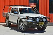 2010 Ford Ranger PK XLT Crew Cab White 5 Speed Manual Utility Ashmore Gold Coast City Preview