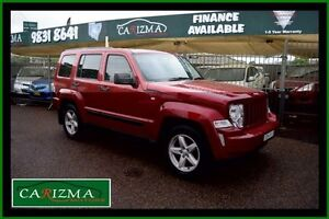2012 Jeep Cherokee KK MY12 Sport (4x2) Red 4 Speed Automatic Wagon Toongabbie Parramatta Area Preview